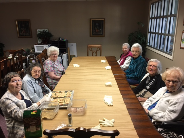 Cooking Club Windsor Gardens Assisted Living